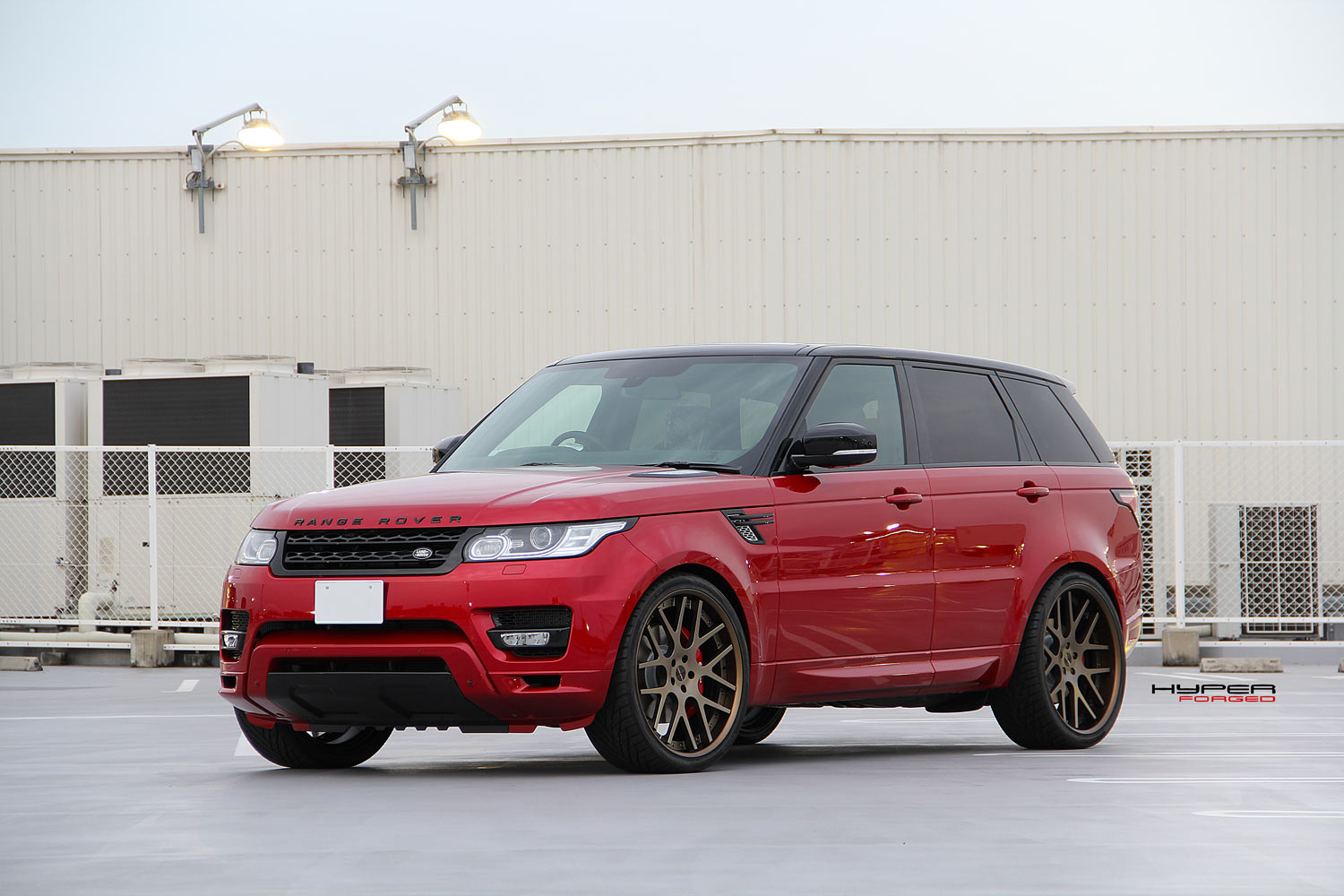 Range Rover Sport Fitted With 24'' HFC7