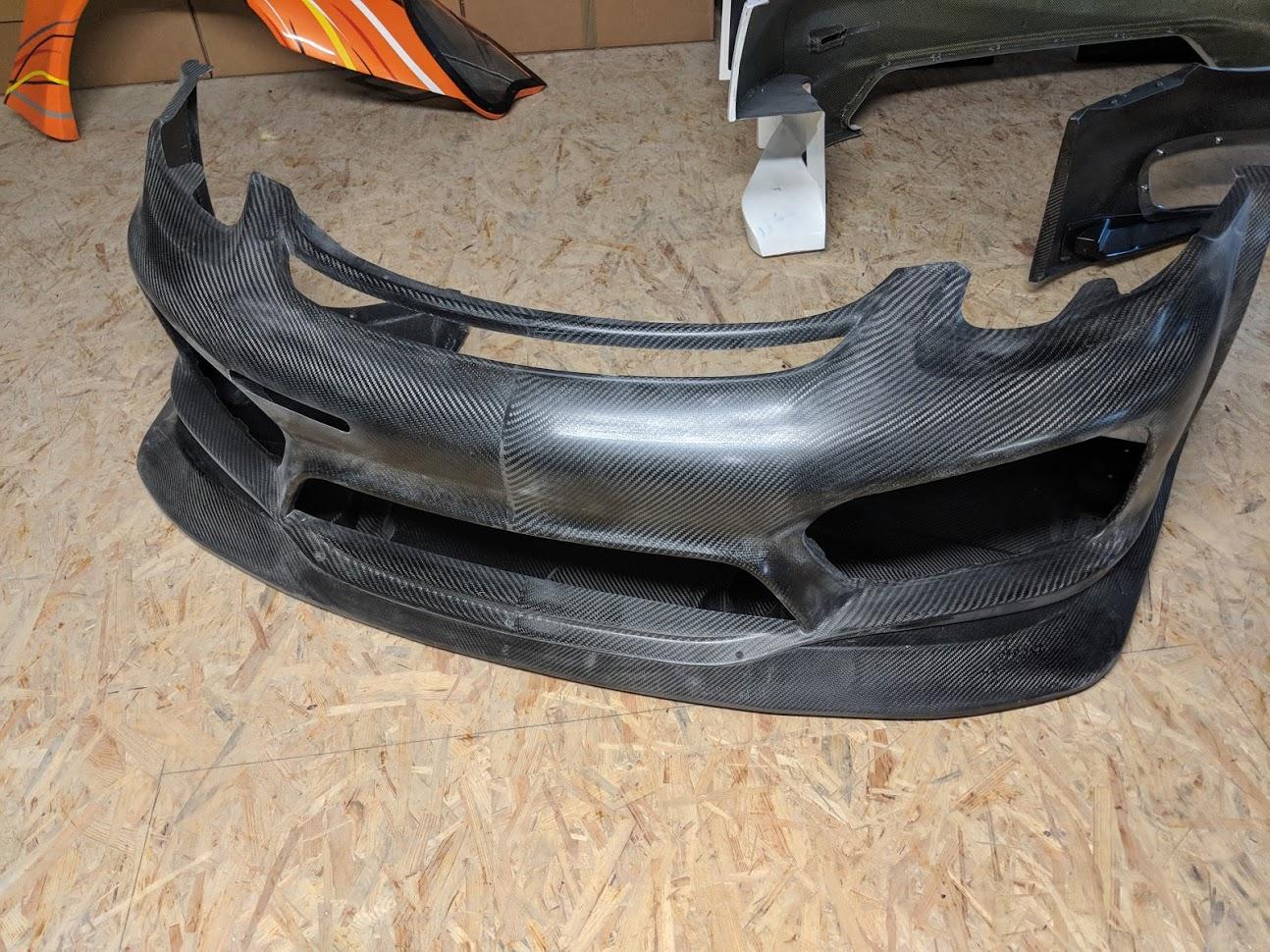Porsche Cayman Bumper Full Carbon