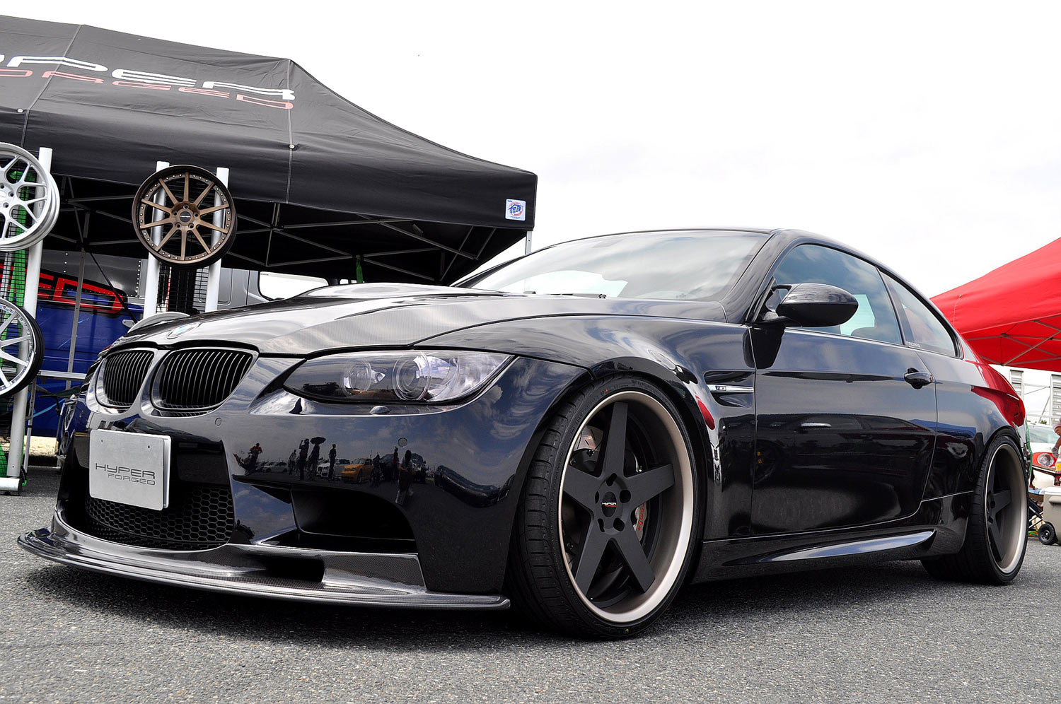 BMW E92 M3 Fitted with 20'' HF_C5.2