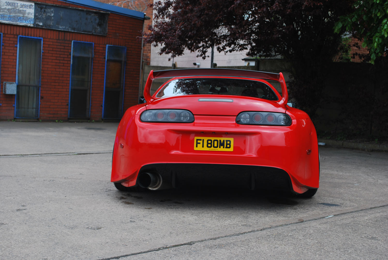 Speedwell Wide Body Supra 01