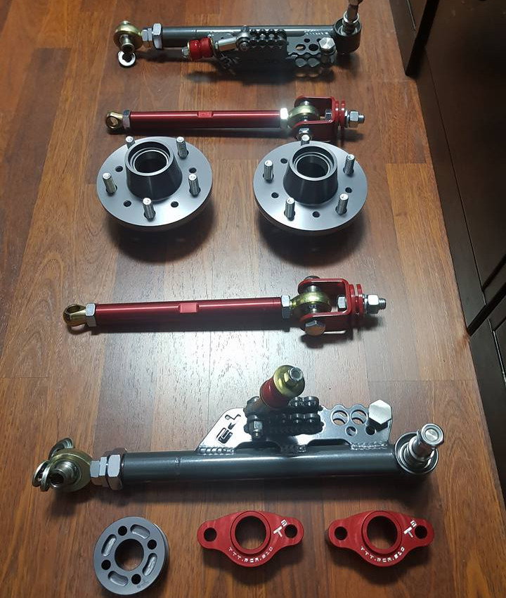 Datsun 280ZX Techno Toy Tuning hubs suspension