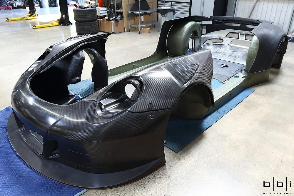 Porsche 991 GT3R Carbon Fibre Aero pack