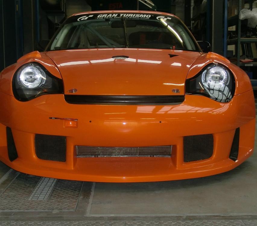 Porsche 996 RSR XXL Front