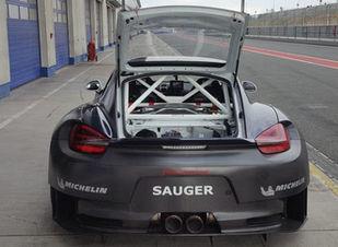 Porsche Cayman Wide Body carbon fibre.jp