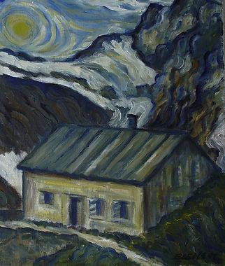 Hüfihütte im Madranertal, Kanton Uri
