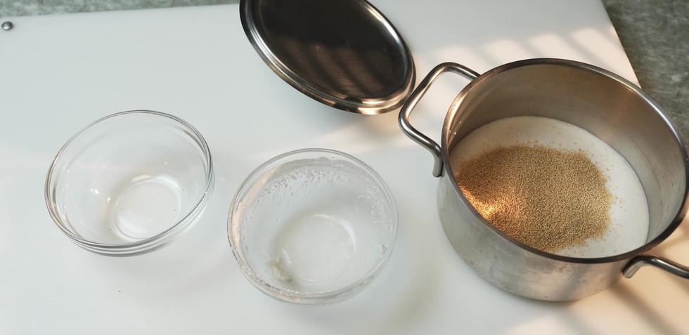 Amaranth cooking