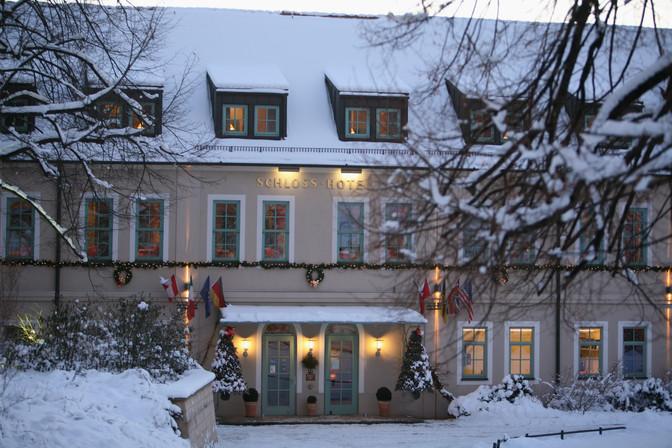 Winter im Schlosshotel