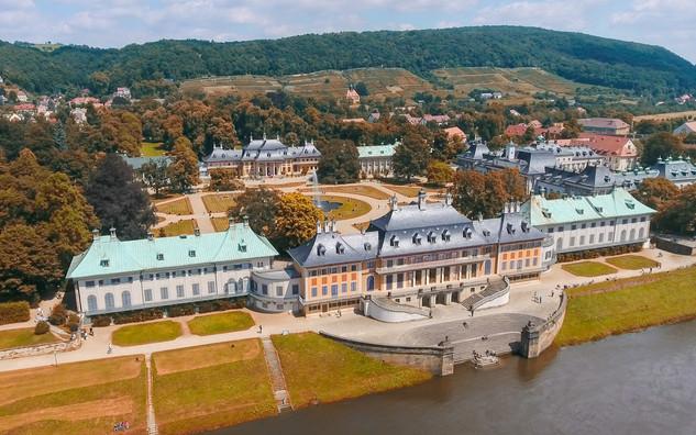 Der Pillnitzer Schlosspark