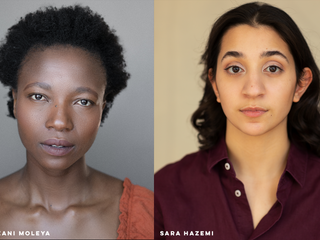 Meet the mentees! introducing the two artists enrolled on our Mentoring Scheme 2021/22