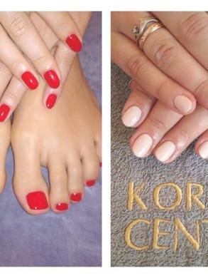 manicure hybrydowe biznesowe, Lask, Korona Centrum