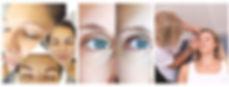 stylizacja brwi, geometria, korona centr