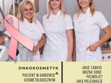 Onkokosmetyka- Pacjent w gabinecie kosmetologicznym