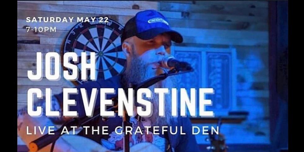 Josh Clevenstine at The Den