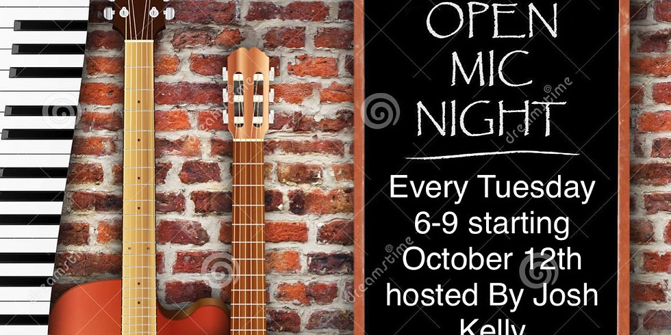 Open Mic Night Hosted by Josh Kelly from Kelly and Son