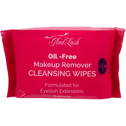 Glad Lash Makeup Remover Cleansing Wipes
