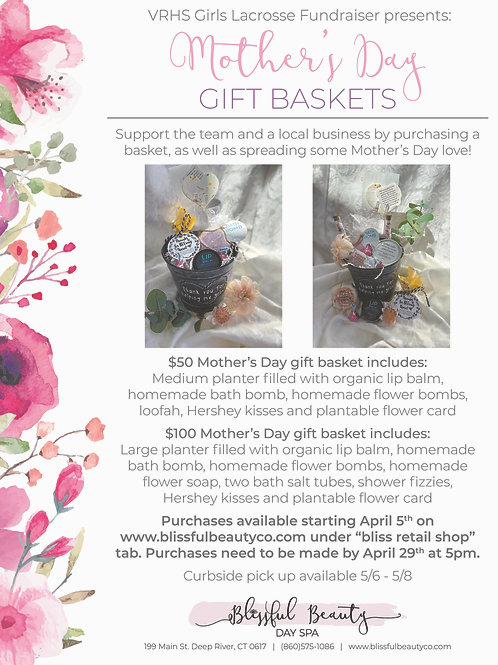 VRHS Fundraiser Mothers Day Baskets- SHIPPING UNAVAILABLE FOR THIS ITEM