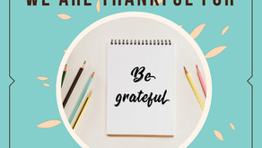 7 Things We Are Thankful For