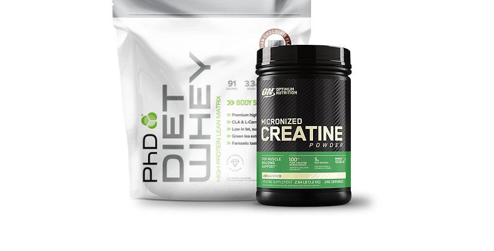 15% OFF PhD Diet Whey & Creatine Bundle