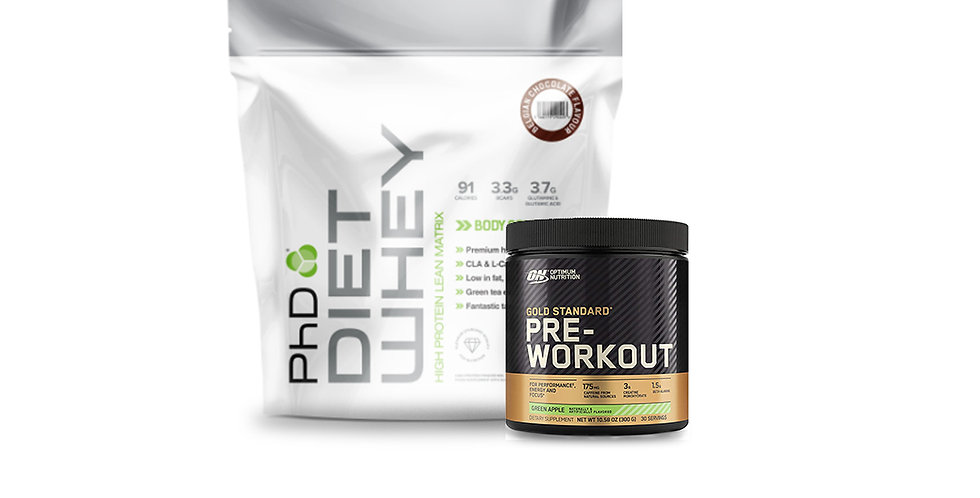 16% OFF PhD Diet Whey & Pre-Workout