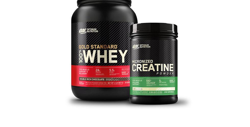15% Optimum Nutrition Protein & Creatine Bundle