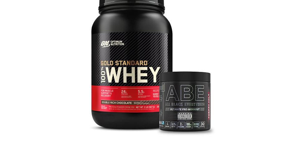 16% OFF Optimum Nutrition Whey & Pre-Workout Bundle