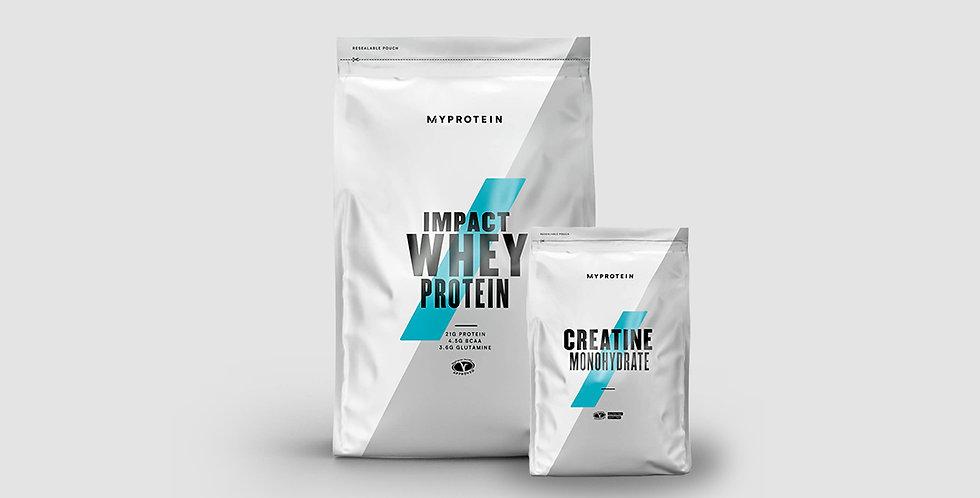 15% OFF MyProtein Impact Whey & Creatine Bundle