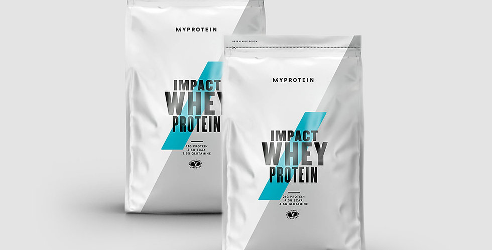 2 x MyProtein Impact Whey (1Kg - 40 Servings)