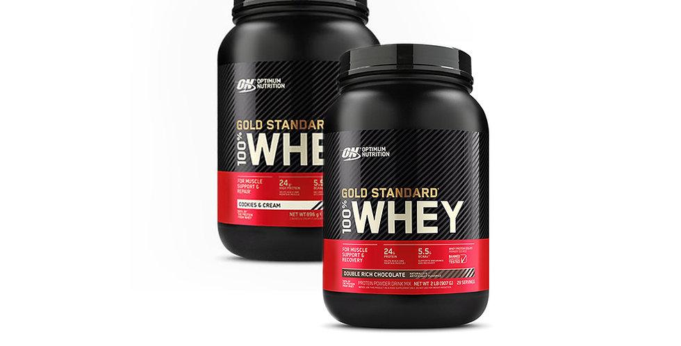 2 x Optimum Nutrition Whey (30 Servings)