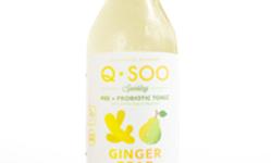 Ginger Pear Sparkling Pre+Probiotic Tonic