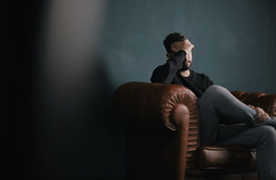 man learning how to cope