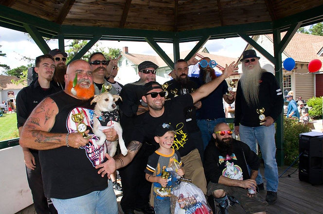 Winners of 2017 Beard & Mustache Competition
