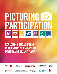 communty report cover: picturing participation