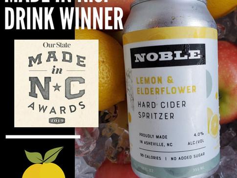 Made in NC Award