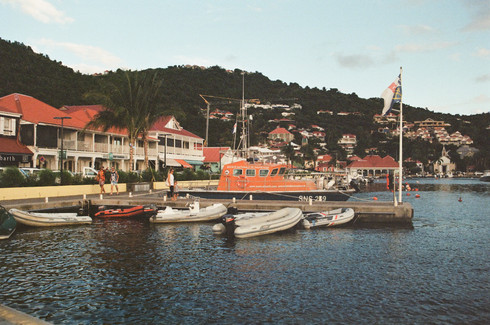 Harbor of Gustavia - St Barth