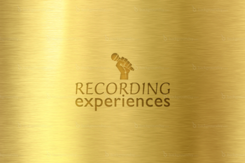 Gold Recording Studio Experience Gift Voucher