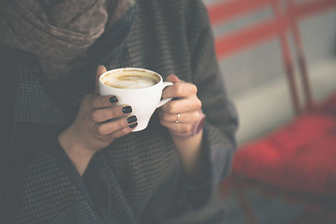 Hot cup of coffee. Warm & friendly Therapist. Counselling, Psychotherapy & Mentoring for Children, Young People & Adults.