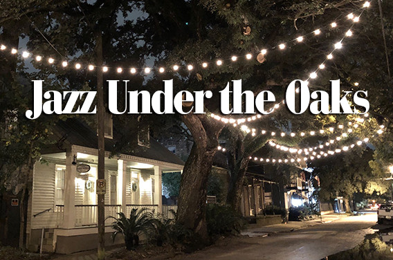 Christmas Under The Oaks.Jazz Under The Oaks