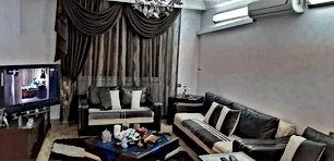 شقة مميزة لقطة في الجاردنز طابق ارضي البناء محدث بالكامل مع العفش للبيع بسعر أقل من سعر السوق