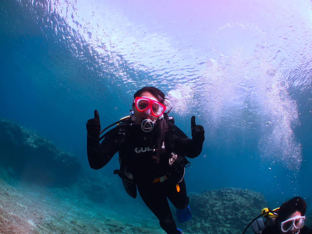 intro diving in okinawa