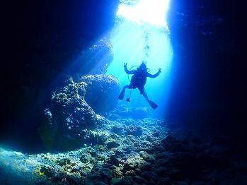 intro divin blue cave