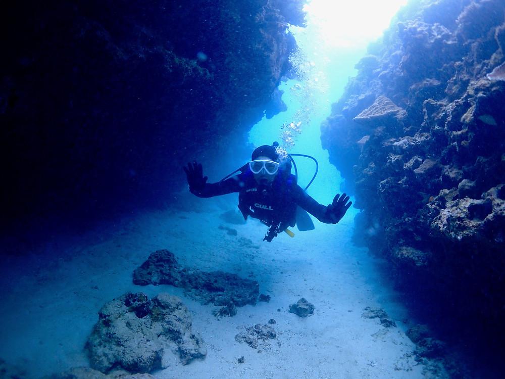 恩納村北部体験ダイビング