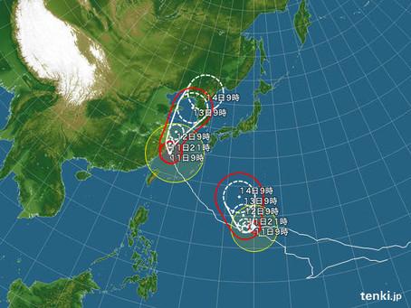 台風最接近ギリギリまで。。福岡水産高校海洋実習!