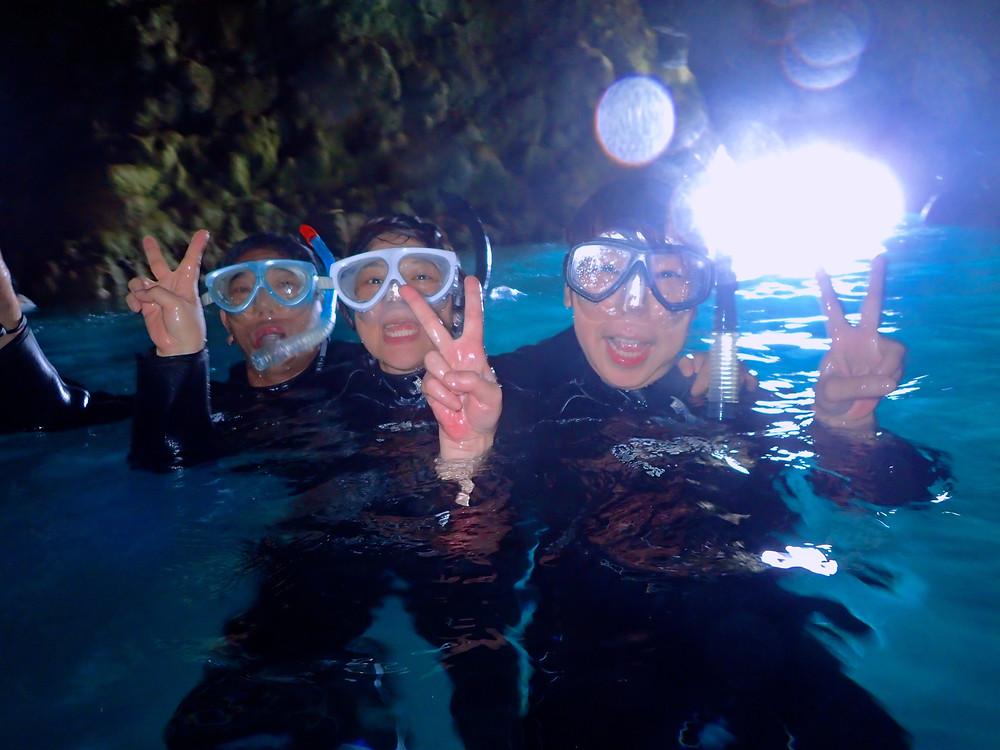 青の洞窟ダイビング&シュノーケリング
