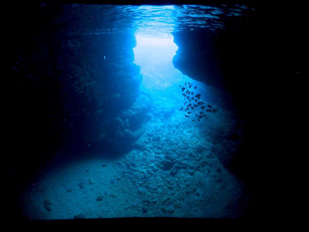 恩納村青の洞窟ダイビングスノーケリング