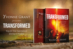 The book Transformed_Social Media Banner