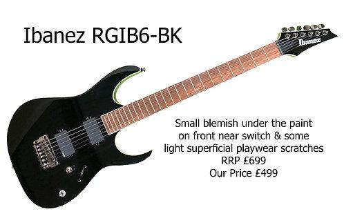 Ibanez RGIB6-BK Baritone 15842H