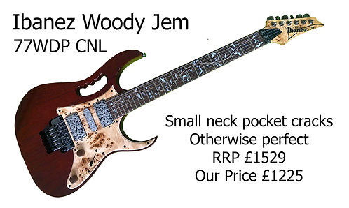 "Ibanez JEM77WDP-CNL ""Woody"""