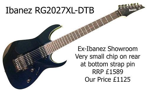 Ibanez RG2027XL-DTB Japanese 29799H