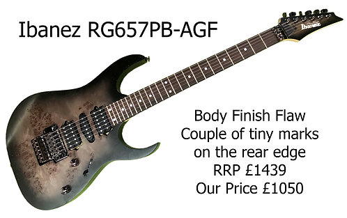 Ibanez RG657PB AGF Japanese 28220H