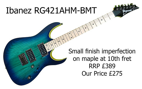 Ibanez RG421AHM-BMT  -  10th fret Imperfection     30261H